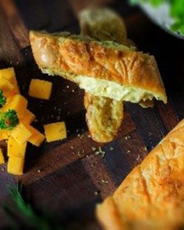 Cheese & Garlic Snack Bread